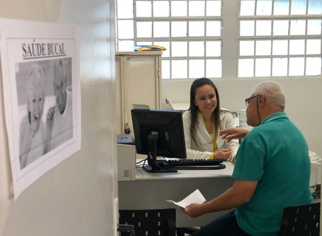 Mutirão do idoso na UBSF Pampulha
