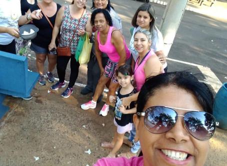 Atividade com pacientes dos grupos de fibromialgia