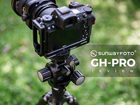 Sunwayfoto GH-Pro หัวเกียร์ขนาดกระทัดรัดสำหรับช่างภาพที่ต้องการความเป๊ะ