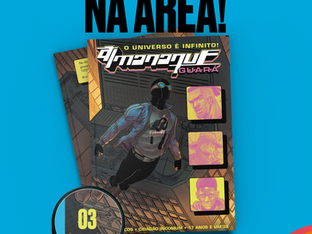 Almanaque 3. Universo Infinito. Tudo Guará. Tudo aqui.