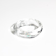 [No.0046] LUMIEF OPAL Straight Ring #15 Water Opal