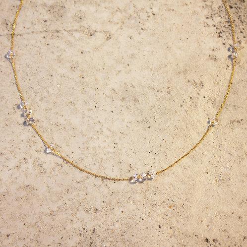 LUMIEF Loop Necklace K10YG