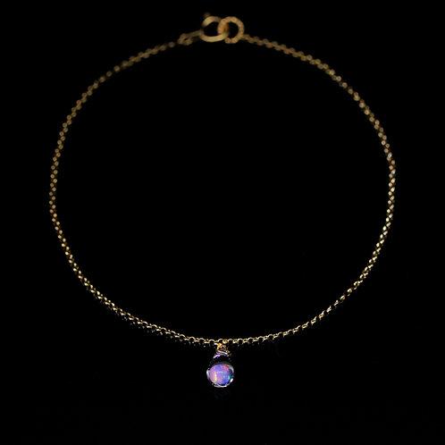 SENTE OPAL 4mm Drop Bracelet K18