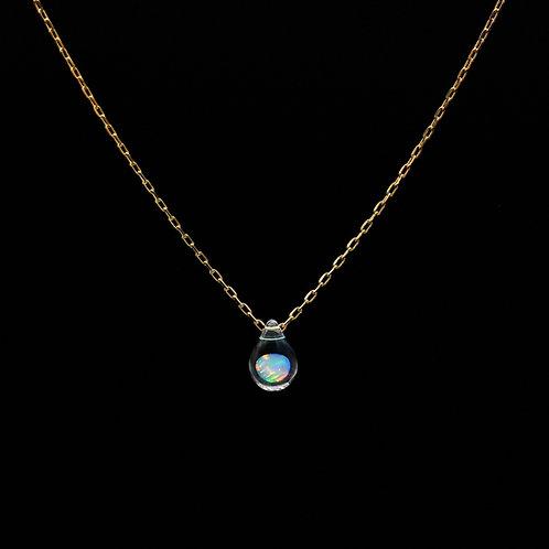 SENTE OPAL 4mm Drop Necklace K18