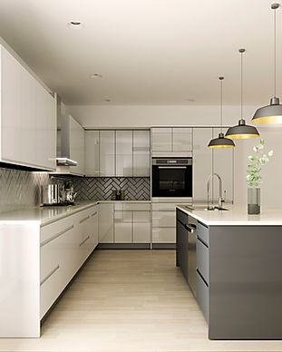 Contemporary European Cabinets Bay Area Kz Kitchen