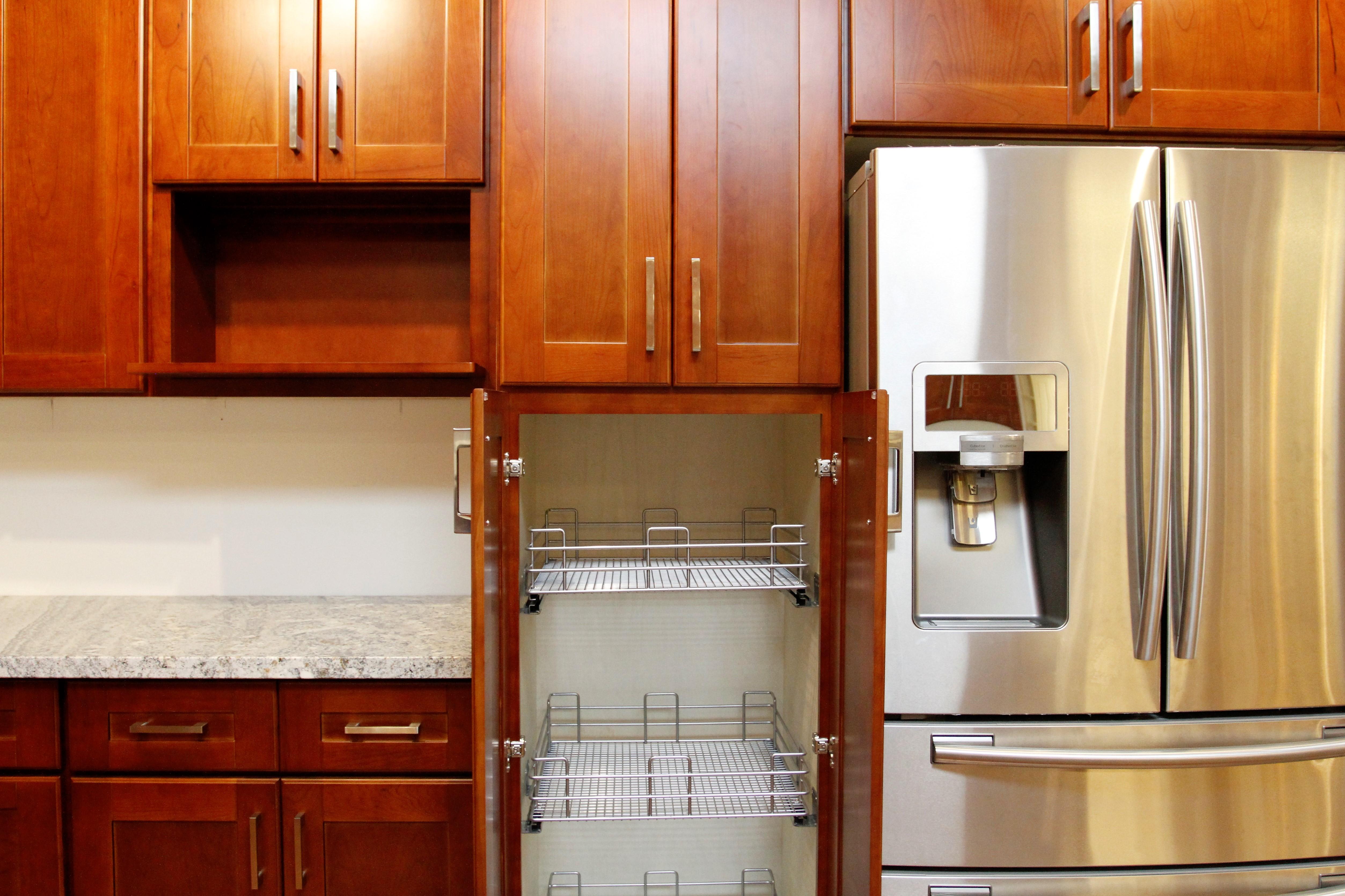Cherry Shaker Cabinet Hayward San Jose Kz Kitchen