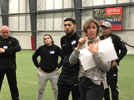 Aztec Soccer focus on the evolving the how-to coach skills