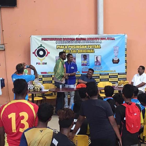 Piala Pusingan Futsal Sri Sai Original 2017