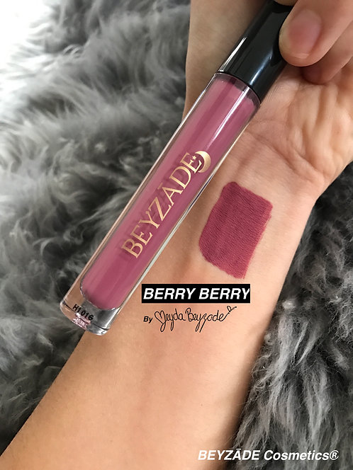 BERRY BERRY | Liquid To Matte Lipstick