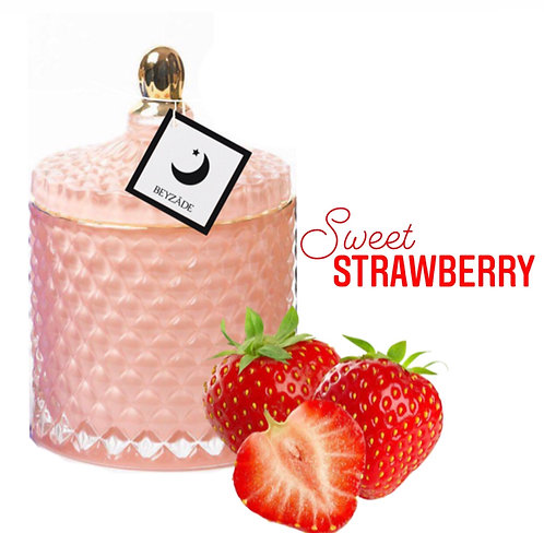 Sweet Strawberry | Soy Candle