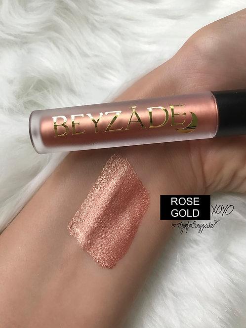 ROSE GOLD | Metallic Lipstick