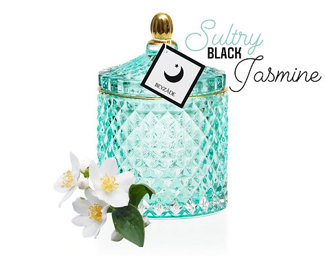 Sultry Black Jasmine | Soy Candle