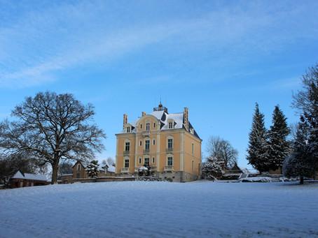 Début février, La Roche s'est parée de son manteau blanc