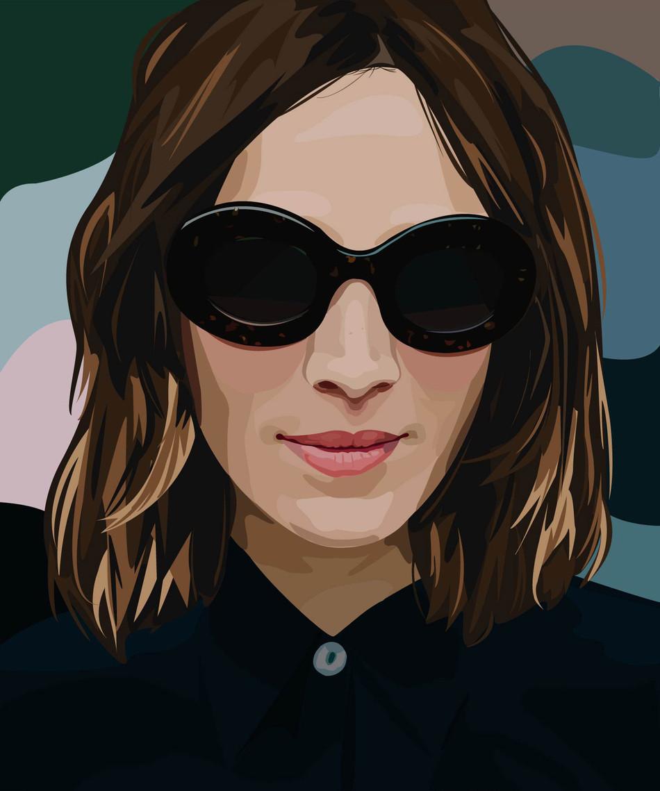Alexa Chung Portrait