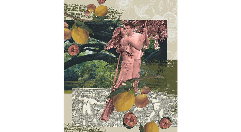 Rococo-Inspired Collage
