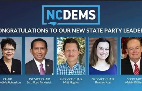 New NCDP Officers - Including Catawba County's own Shannon Auer!