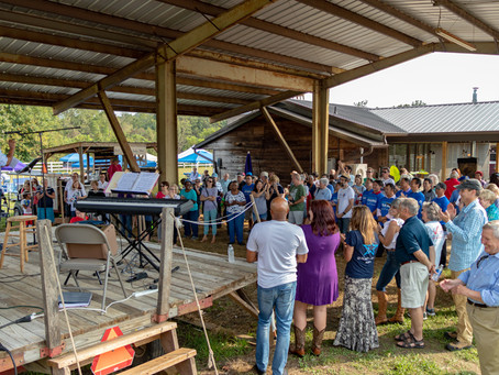Candidate Fish Fry Photos