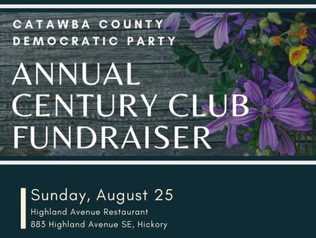 Century Club Fundraiser Aug. 25