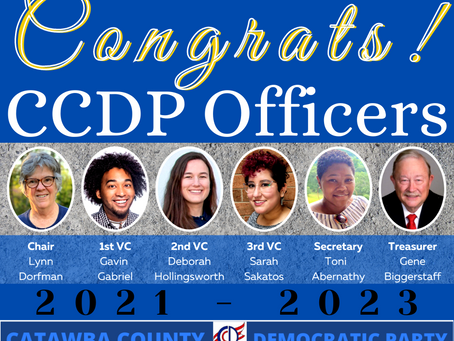 New Officers Elected at Virtual County Convention