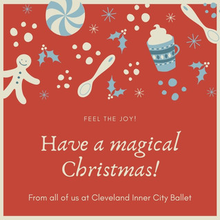 Merry Christmas from Cleveland Inner City Ballet