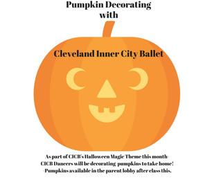 Pumpkin Decorating at CICB!