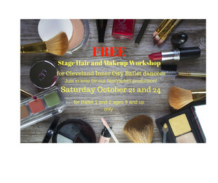 CICB Stage Make Up and Hair Workshop