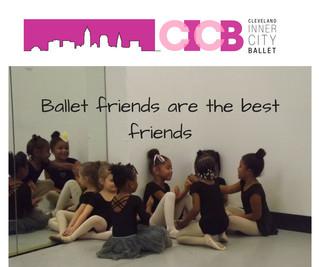 Ballet Friends Make the Best Friends