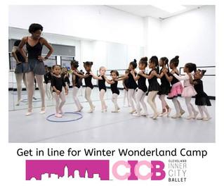 Winter Wonderland Camps at Cleveland Inner City Ballet