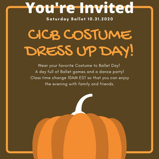 CICB Costume Dress Up Day