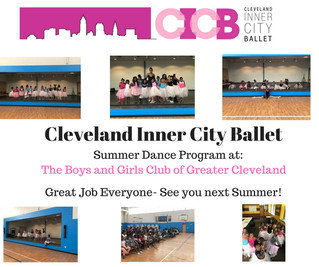 CICB Final Performance with the Boys and Girls Club of Greater Cleveland.