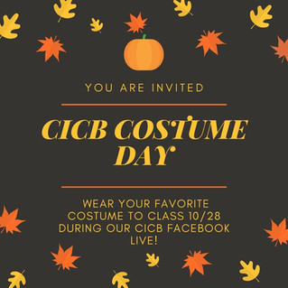 CICB Facebook Live Costume Dress Up Day