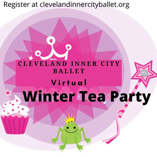 Register today for the CICB Winter Tea Party 2021. clevelandinnercityballet.org