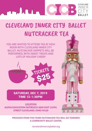 Cleveland Inner City Ballet Nutcracker Tea