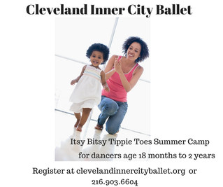 Itsy Bitsy Tippie Toes Camp