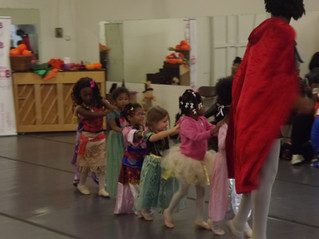 Ballerina Costume Day at CICB