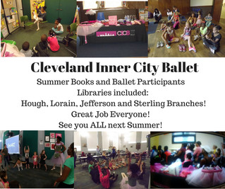 CICB at Cleveland Public Libraries this Summer!