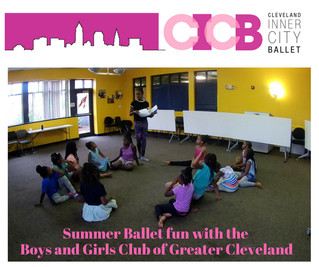 Cleveland Inner City Ballet at the Boys and Girls Club of Greater Cleveland