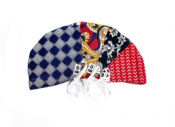 Conical Medium, Ear Band Mi Duraprot Face Cloth Masks