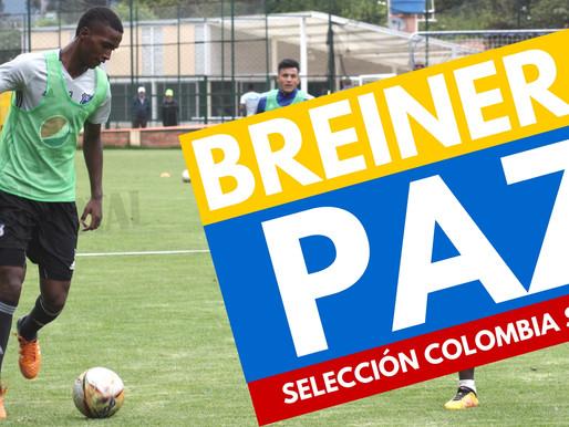Bréiner Paz convocado al Sudamericano Sub 20