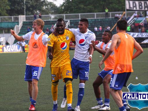 Millonarios venció a Llaneros y es líder de su grupo en Copa Águila