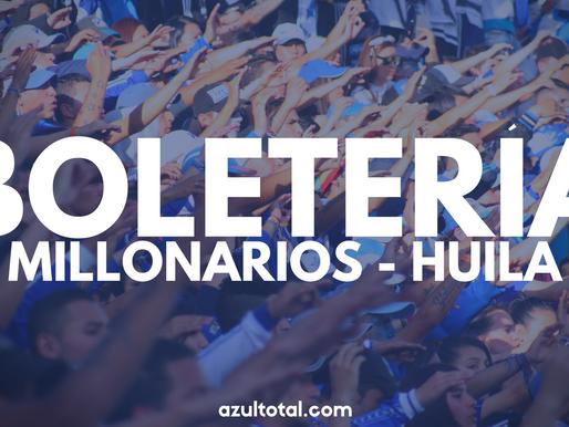 Con promoción por el día del niño, Millonarios lanzó boletería frente al Huila