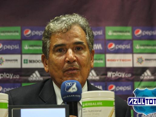 """Está claro que buscamos el partido, nunca nos metimos atrás"": Jorge Luis Pinto"