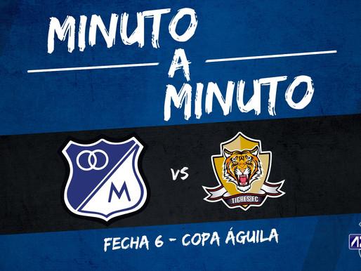 Min a min: MILLONARIOS 2-0 Tigres