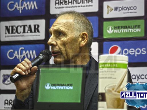 """""""Estoy contento, volver a un estadio de fútbol para mi es bueno"""": Miguel Ángel Russo"""