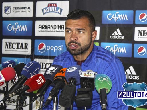 """""""Es primordial sumar en Liga, viene una Libertadores muy dura"""": Andrés Felipe Cadavid"""