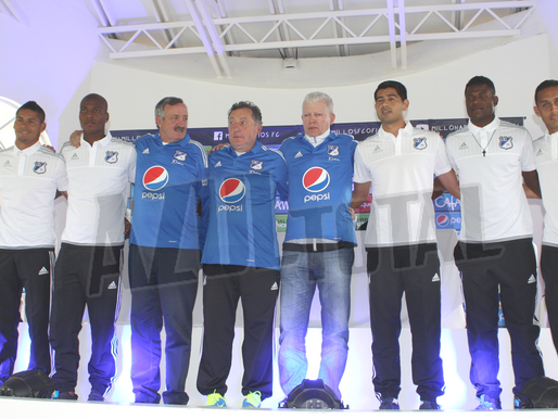 Millonarios presentó sus seis nuevas caras