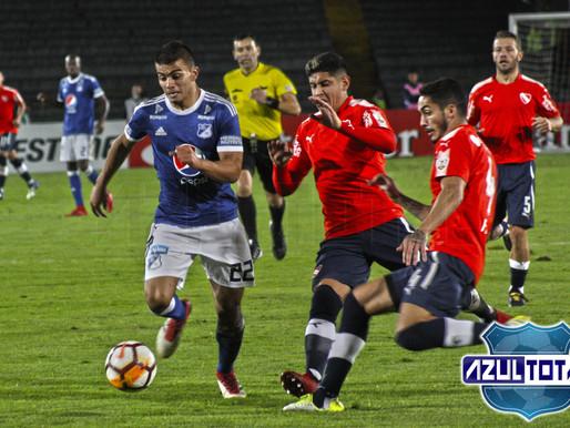 Empate con sabor a derrota que complica a Millonarios en Libertadores