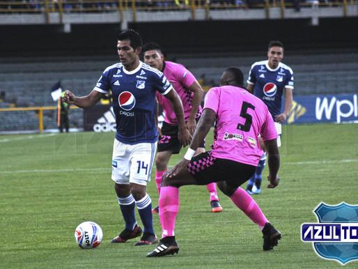 Millonarios dejó escapar dos puntos en su debut ante Chicó