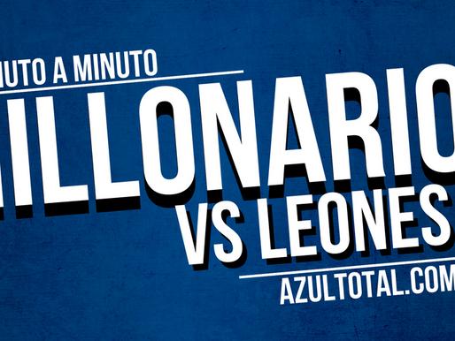 Min a min: Leones 2 - 1 MILLONARIOS