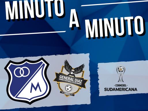 Min a min: MILLONARIOS (5) 4-0 (1) General Díaz